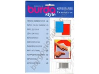 Burda Carta Copiativa Blu e Rossa